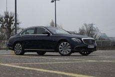 Mercedes E350e to bardzo komfortowe i prestiżowe auto.