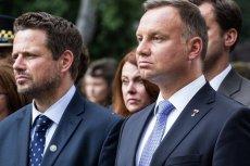 W nowym sondażu Andrzej Duda prowadzi z Rafałem Trzaskowskim.