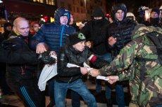 Atmosfera na wrocławskim Marszu Patriotów była naprawdęgorąca.