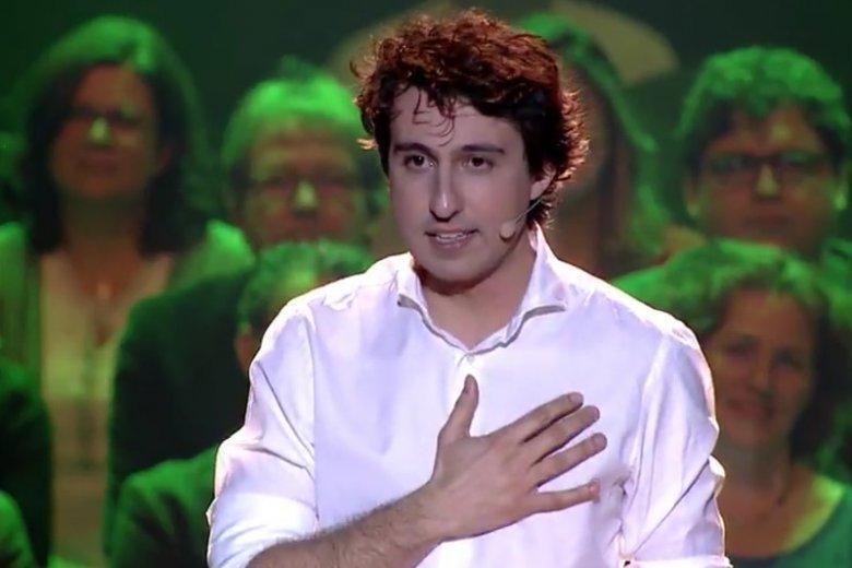Jesse Klaver, przywódca Zielonych, nazywany jest holenderskim Trudeau.