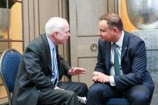 McCain rozmawiał z Dudą w Monachium.