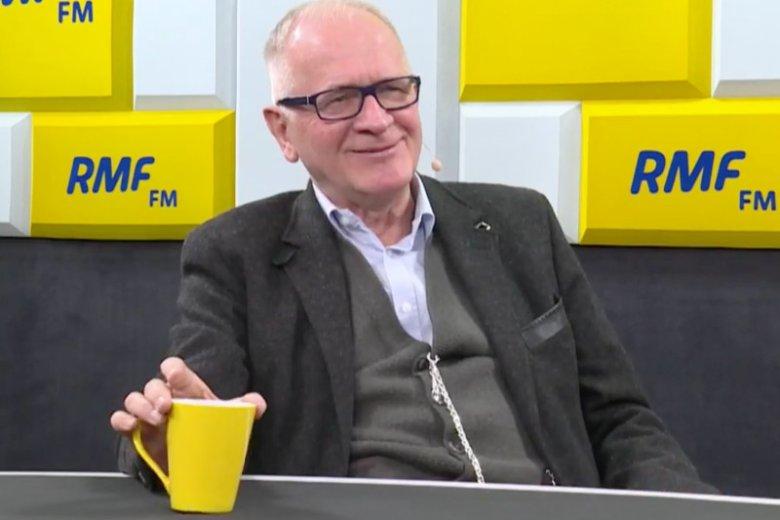 Krzysztof Czabański u Roberta Mazurka w RMF FM ocenił dziennikarstwo w TVP Info.