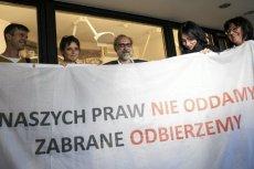 Czwórka Obywateli RP została oskarżona o wtargnięcie na teren  Sejmu.