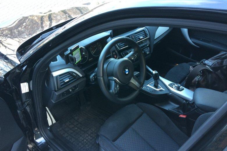 Udało nam się wypożyczyć BMW 1