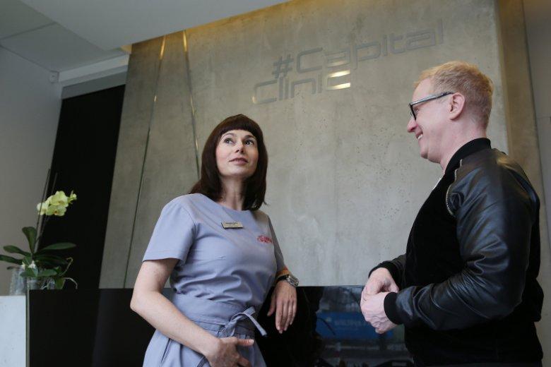 Dr n. med. Agnieszka Nęcka i Grzegorz Sierzputowski