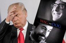 """1997: Komediodramat """"Fakty i akty"""" opowiada o prezydencie, który chce użyć wojny do poprawy notowań wyborczych. 2020: Donald Trump w roku wyborczym pcha kraj ku wojnie z Iranem."""