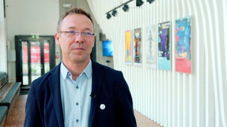 Zbigniew Darda, dyrektor Domu Kultury Kadr