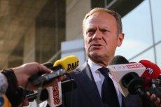 Donald Tusk mówi o kondycji opozycji.