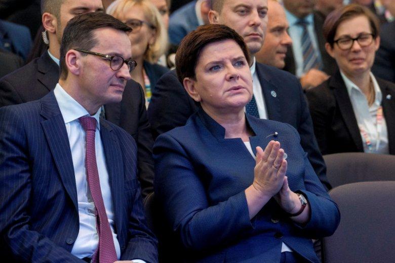 Beata Szydło ma według plotek zostać zastąpiona na fotelu premiera przez Mateusza Morawieckiego.