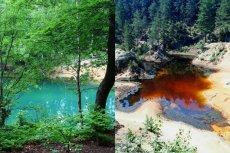 Takie kolory wody są w Polsce rzadkością. Co ciekawsze - są całkowicie naturalne
