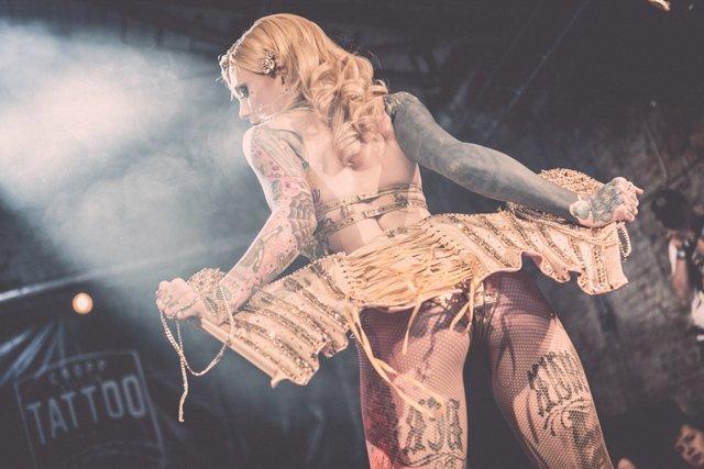 Cropp Wrocław Tattoo Konwent 2014 / Pokaz Lucky Hell