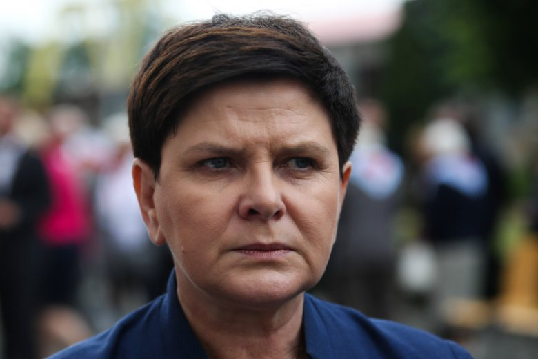 Matka niepełnosprawnej kobiety zagięła Beatę Szydło na spotkaniu w Będzinie.
