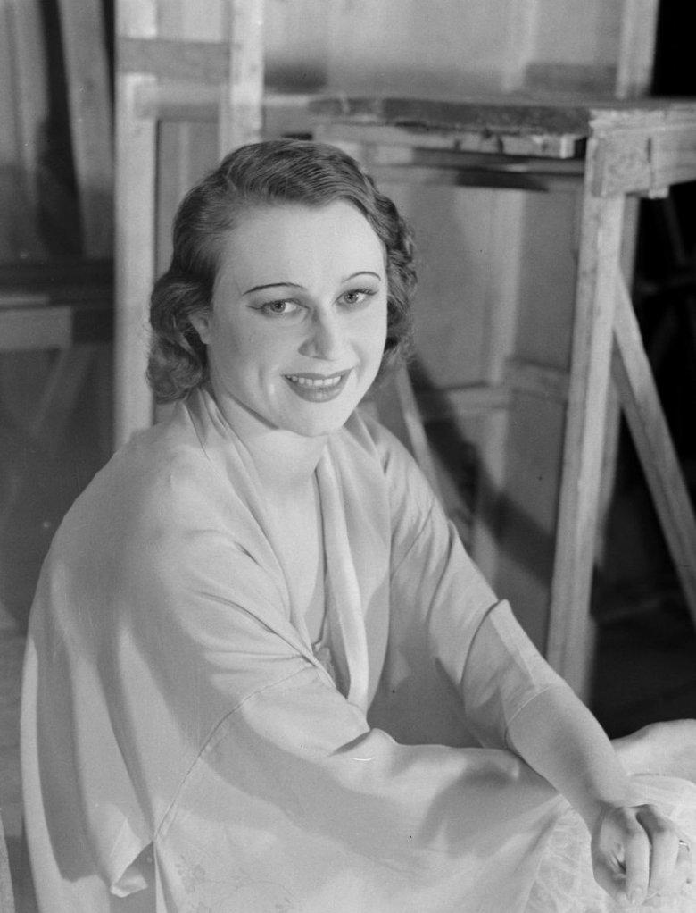 Loda Halama w czasach gdy była primabaleriną Teatru Wielkiego w Warszawie