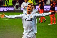Cristiano Ronaldo ze względu na brak światła nie miałw niedzielę żadnej okazji do strzelenia gola.