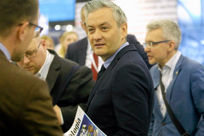 Prezydent Słupska Robert Biedroń zaskoczył na Europejskim Kongresie Gospodarczym w Katowicach.