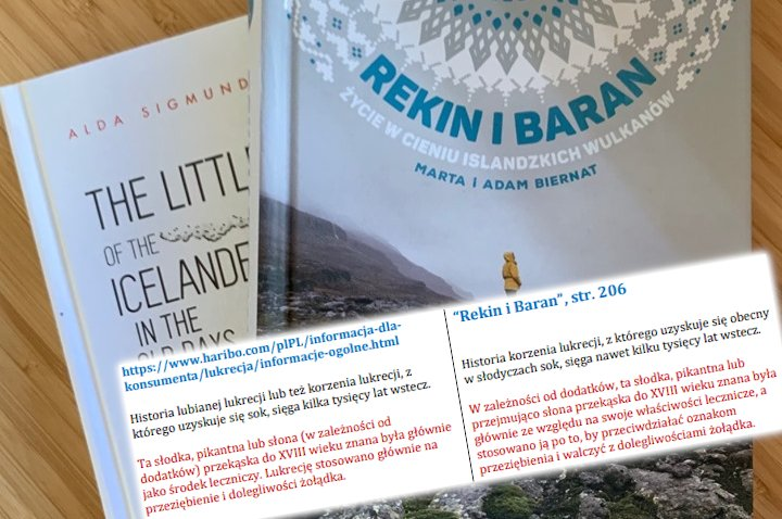 """W książce """"Rekin i baran"""" znajdziemy nawet cytaty inspirowane stroną żelków Haribo"""
