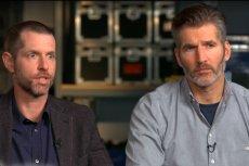 """David Benioff (z prawej) i D.B. Weiss (z lewej) nie są zbyt lubiani przez fanów po zakończeniu """"Gry o tron"""""""
