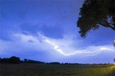 Można w łatwy sposób dowiedzieć się, gdzie w danym momencie jest burza.