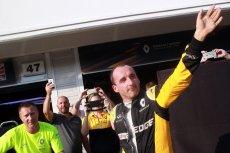Robert Kubica podczas testów na Węgrzech wykazywał wysoką formę.