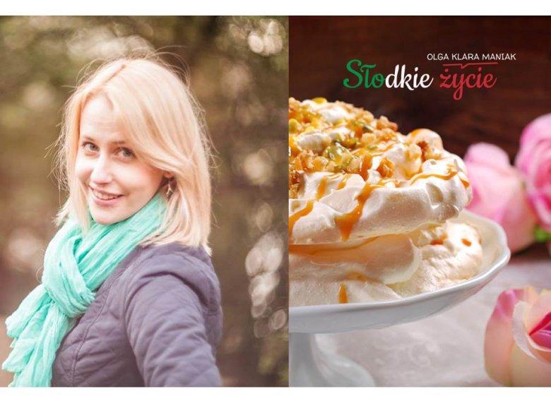 """Olga Klara Maniak, autorka książki """"Słodkie życie"""""""