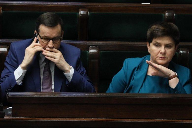 Kandydaturze Mateusza Morawieckiego na premiera nowego rządu ma być przeciwna m.in. Beata Szydło.