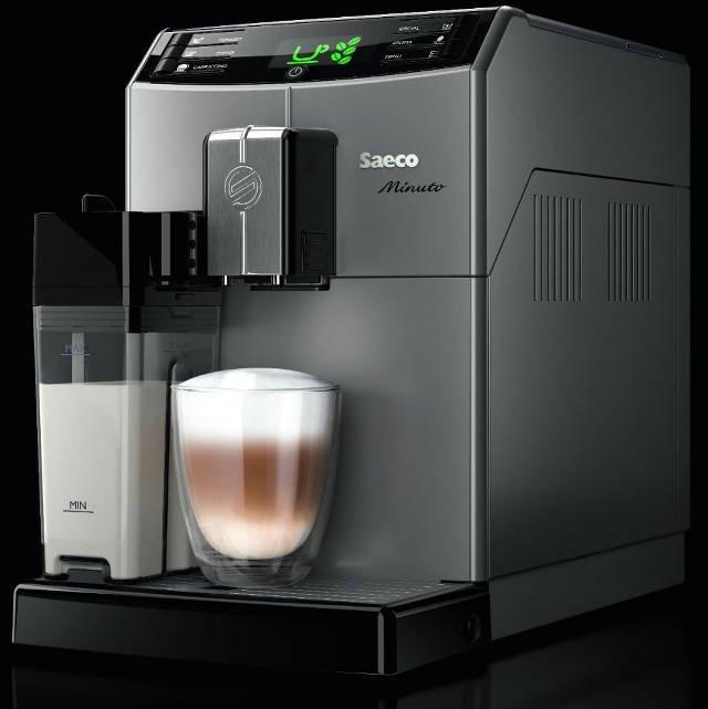 Ekspres do kawy Saeco Minuto One Touch Milk Carafe Silver Philips