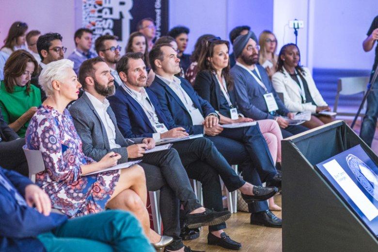 Jury podczas SingularityU Poland Global Impact Challenge.