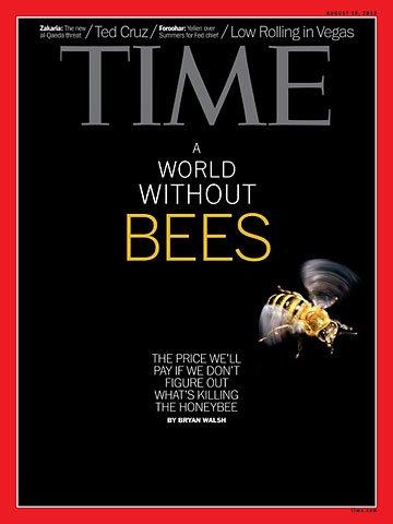 Okładka jednego z ostatnich numerów amerykańskiego Time'a