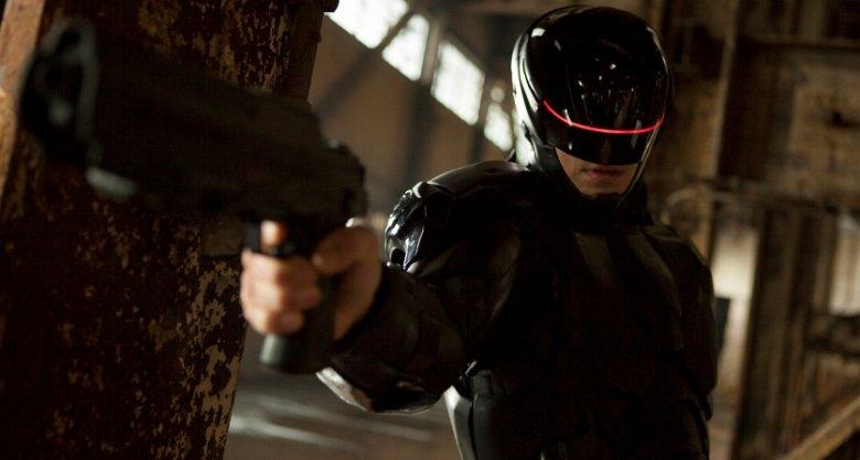 """Kadr z filmu """"RoboCop""""."""