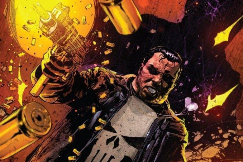 """Szymon Kudrański jest obecnie ilustratorem komiksu """"Punisher"""", serii Marvel Comics, której tytułowym bohaterem jest słynny mściciel rozprawiający się bezwzględnie z przestępczością"""