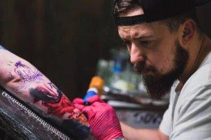 Damian Gorsky - artysta tatuażu