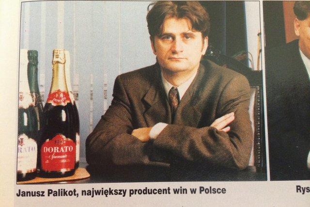 Janusz Palikot  jako bohater listy najbogatszych Polaków.