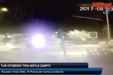 Wypadek autokaru z Polakami w Turcji. Nie żyje pomocnik kierowcy, jest wielu rannych.