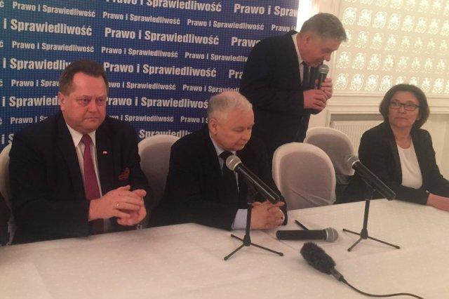 Dziwna wizyta Kaczyńskiego w Białymstoku. Szczegóły były owiane tajemnicą, spotkanie zamknięte dla mediów