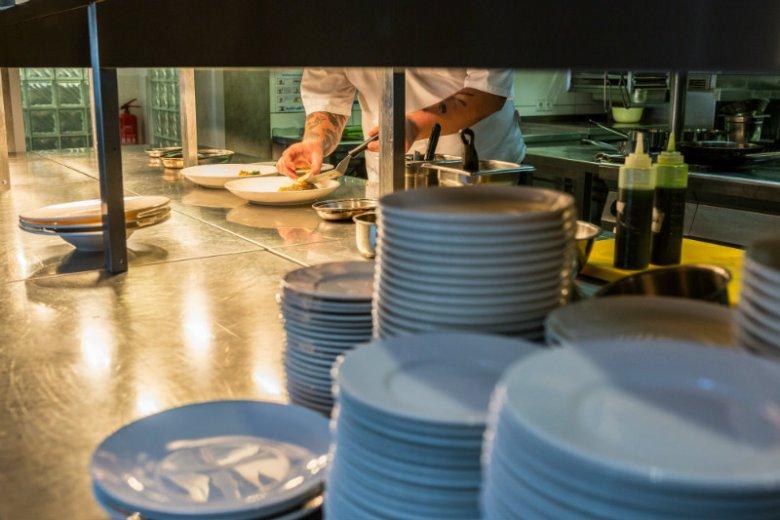 Fine dining od kuchni,  w Winosferze - otwartej