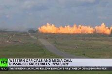 """Media nazywają rosyjsko-białoruskie manewry """"inwazją""""."""
