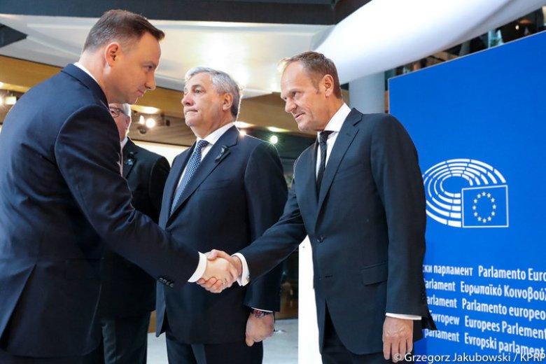 Andrzej Duda i Donald Tusk to faworyci następnych wyborów prezydenckich.