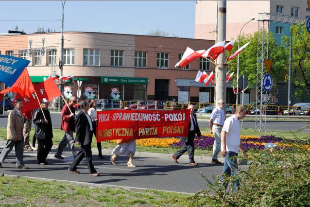 Komunistyczna Partia Polski i jej działacze.