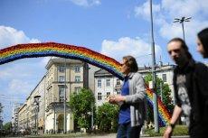 Tęcza wkrótce zniknie z placu Zbawiciela w Warszawie.