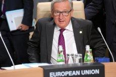 KE proponuje powiązanie unijnych funduszy z praworządnością. Na zdjęciu przewodniczący Komisji Europejskiej Jean-Claude Juncker.