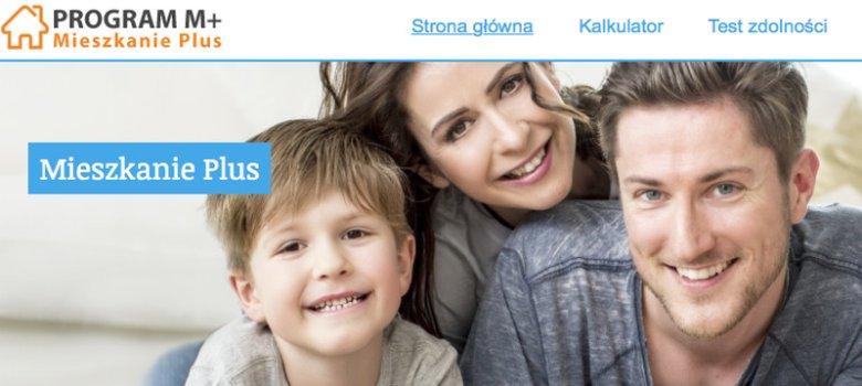 Nieoficjalna strona rządowego programu mieszkanie Plus.