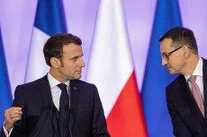 Emmanuel Macron wyraził zaniepokojenie sytuacją w Polsce.