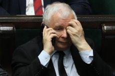 """""""Fakt"""": Jarosław Kaczyński cierpi na uczulenie."""