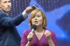 Berkowicz w trakcie debaty wyjął jarmułkęi przyłożyłjądo głowy Krupki.