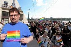 Paweł Ziemkiewicz, brat Rafała, wziął wczoraj udział w Paradzie Równości.