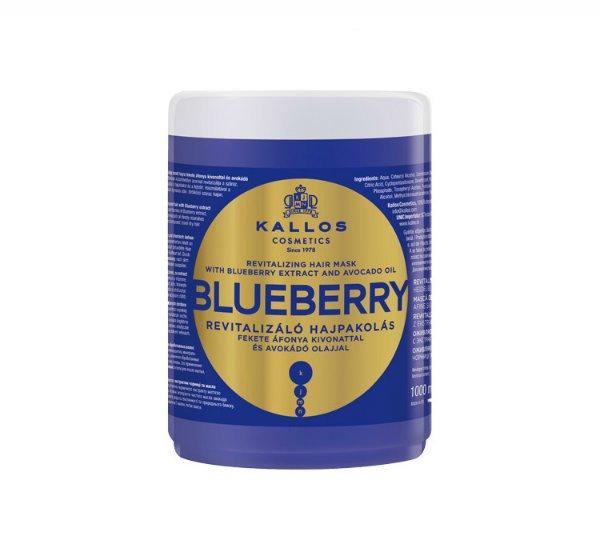 Kallos Blueberry, odżywcza maska do włosów