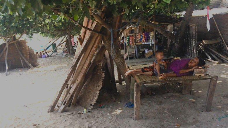 Kuta na Lombok, 2016.