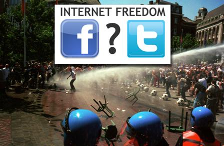 Internet freedom?