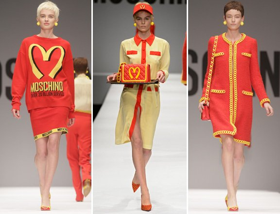 Jeremy Scott's Moschino 2014 Milan Fashion Week