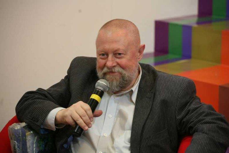 Profesor Jerzy Bralczyk, językoznawca SWPS i UW